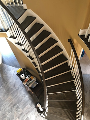 Custom Stairs 4 @ Floors Direct North