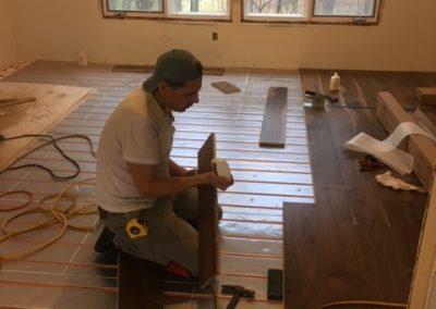 Installing hardwood floors - Floors Direct North