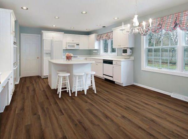 COREtec Galaxy Luxury Vinyl - Whirlpool Oak (room) @ Floors Direct North
