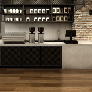 Twelve Oaks Iced Mocha Solidcore Luxury Vinyl (room) @ Floors Direct North