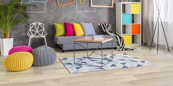 Twelve Oaks Weathered Canvas Solidcore Luxury Vinyl (room) @ Floors Direct North